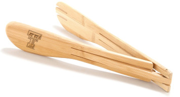 Texas Tech Bamboo Tongs