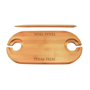 Texas Tech Bamboo Picnic Table