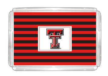 Texas Tech Lucite Tray 11x17