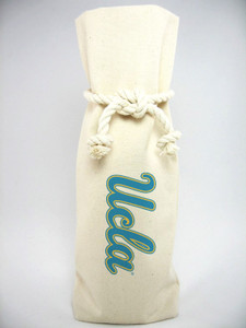 UCLA Canvas Bottle Tote