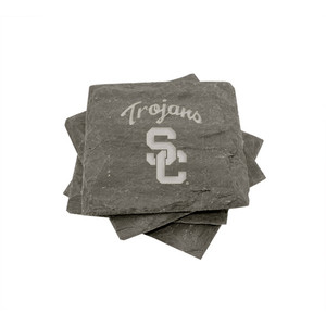 USC Slate Coasters (set of 4)