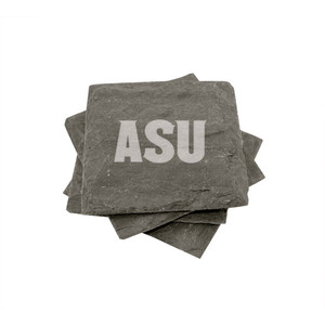 Arizona State Slate Coasters (set of 4)