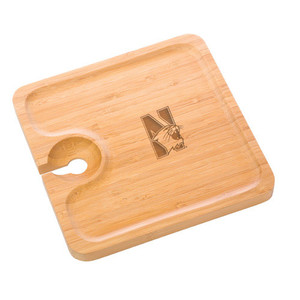 Northwestern Bamboo Party Plate