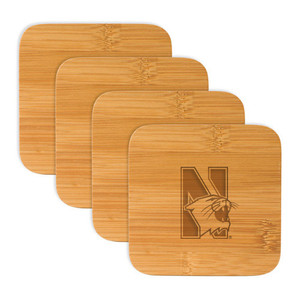 Northwestern Bamboo Coasters