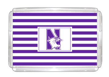 Northwestern Lucite Tray 11x17