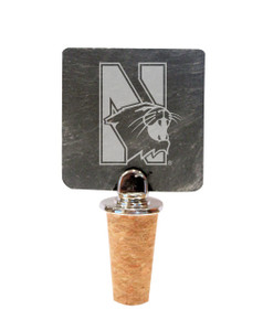 Northwestern Slate Bottle Stopper
