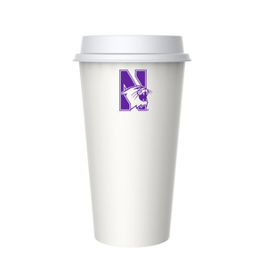 Northwestern 20oz Plastic Coffee Cup