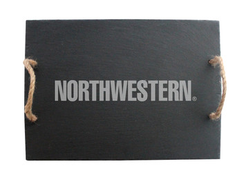 Northwestern Slate Server w/ Rope Handles