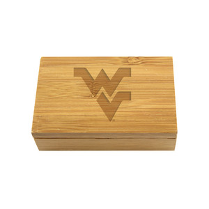 West Virginia Bamboo Corkscrew Set
