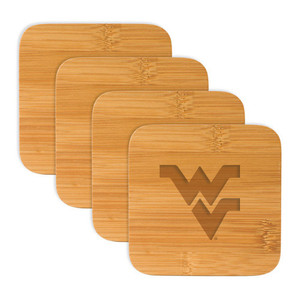 West Virginia Bamboo Coasters