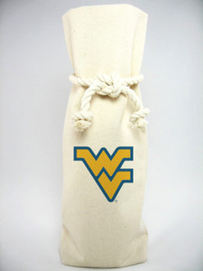 West Virginia Canvas Bottle Tote