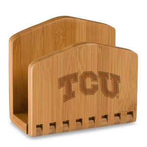 Texas Christian Napkin Holder