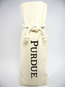Purdue Canvas Bottle Tote