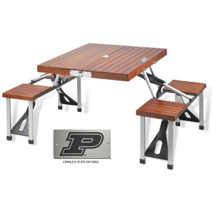 Purdue Folding Picnic Table for 4