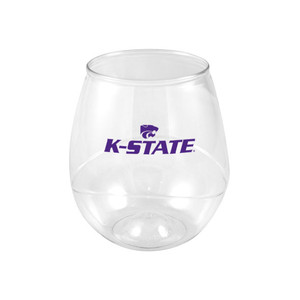 Kansas State 16oz Plastic Beverage (set of 4)