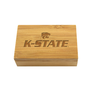 Kansas State Bamboo Corkscrew Set