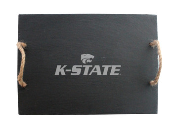 Kansas State Slate Server w/ Rope Handles