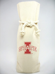 Iowa State Canvas Bottle Tote