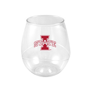 Iowa State 16oz Plastic Beverage (set of 4)