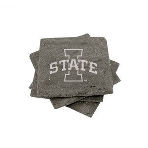 Iowa State Slate Coasters (set of 4)