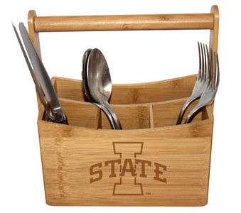 Iowa State Bamboo Caddy