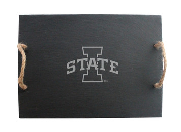 Iowa State Slate Server w/ Rope Handles