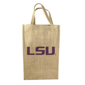 LSU 2-Bottle Tote