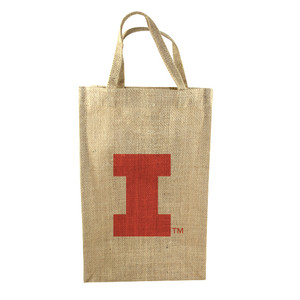 University of Illinois 2-Bottle Tote