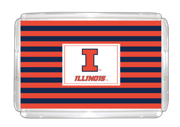 University of Illinois Lucite Tray 11x17