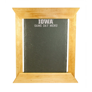 University of Iowa Artisan Chalkboard