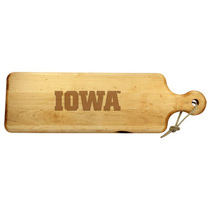 University of Iowa Artisan Plank
