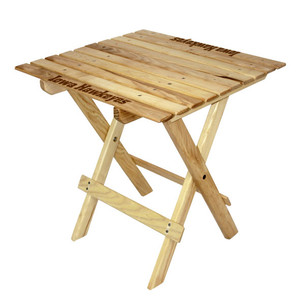 University of Iowa Tailgate Wood Table