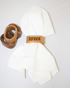 University of Iowa Napkin Rings