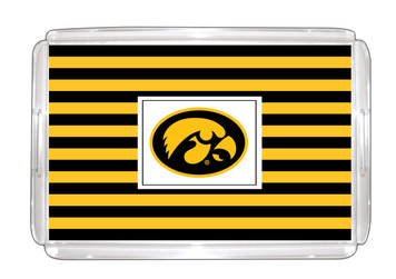 University of Iowa Lucite Tray 11x17