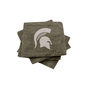 Michigan State Slate Coasters (set of 4)