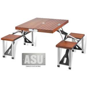 Arizona State Folding Picnic Table for 4