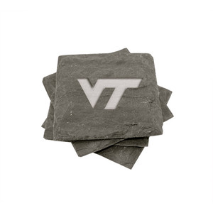 Virginia Tech Slate Coasters (set of 4)