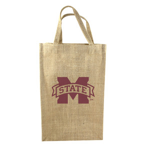 Mississippi State 2-Bottle Tote
