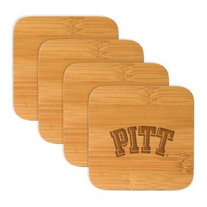 Pittsburgh Bamboo Coasters