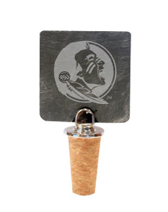 Florida State Slate Bottle Stopper