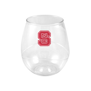 North Carolina State 16oz Plastic Beverage (set of 4)