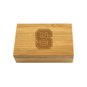 North Carolina State Bamboo Corkscrew Set