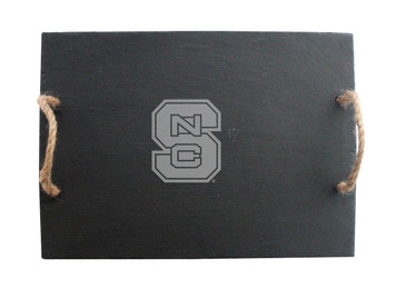 North Carolina State Slate Server w/ Rope Handles