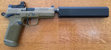FN FNX-45, Semi-Auto Suppressed in .45ACP - 50 Rounds Included
