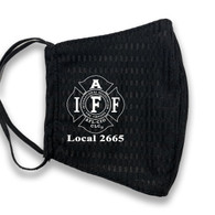 AKWA Custom IAFF Mask - Black