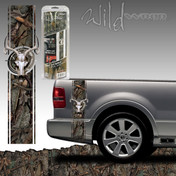 Wild Oak Skull Bed Side Rally - 7318