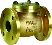 Bronze Flanged Swing Check Valve PN10/16