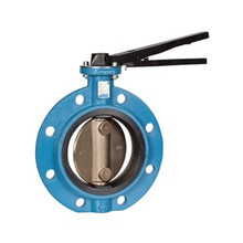 Metric BUTTERFLY VALVE, Lug Type, GGG40 Body Stainless 316 Disc, EPDM Liner, Lever Handle
