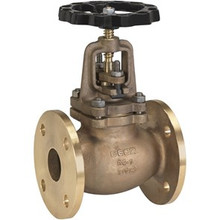 Bronze Flanged Globe Valves with Bolted Bonnet drilled PN10/16
