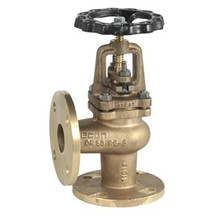 Bronze Angle Valves Flanged, Bolted Bonnet, Outside Screw & Yolk